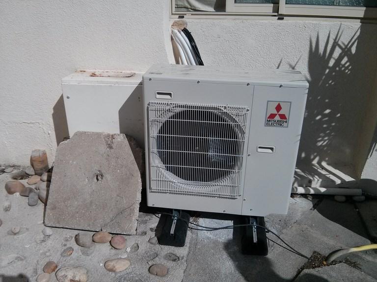 unité extérieure climatisation